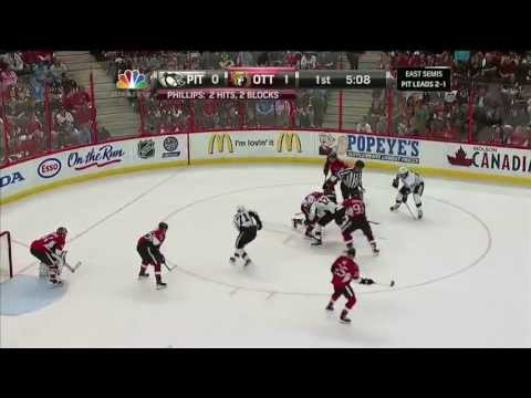 James Neal Scores 2 Goals Against Ottawa Senators 5/22/13 [Game 4]
