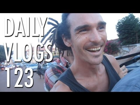 Markets and Motorbikes | Louis Cole Daily Vlogs 123