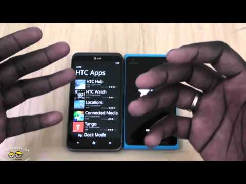 Battle Vid: Nokia Lumia 900 vs HTC Titan II- Best Windows Phone