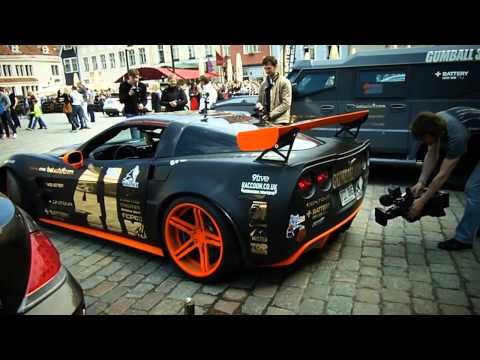 gumball 3000 Estonia Tallinn  HD