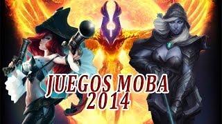 TOP 5 LOS MEJORES JUEGOS ONLINE MOBA GRATIS EN ESPAÑOL - 2014