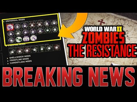 First Look At DLC 1 Zombies Content Released! (Call of Duty WW2)