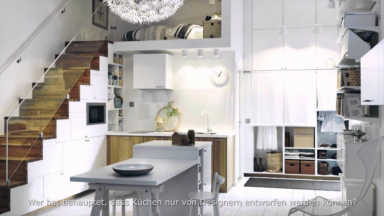 ikea k che youtube valdolla. Black Bedroom Furniture Sets. Home Design Ideas