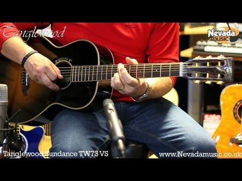 Tanglewood TW73 Vintage Sunburst Acoustic Guitar Demo - Richie Stopforth @ Nevada Music