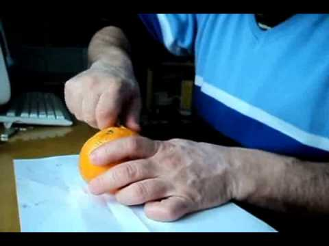 Апельсиновый человечек