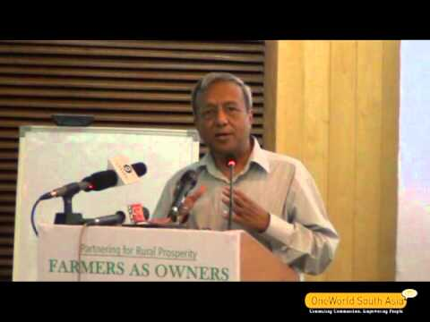 Farmers As Owners: Special Address By Alok Jain, Chairman, Jal Vidyut Nigam Ltd., Uttarakhand video