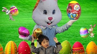 Easter Bunny Surprise Visit to Jai Bista Show + Surprise Toys Hunt With REAL EASTER BUNNY!