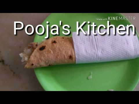 Roti Egg Roll Recipe....