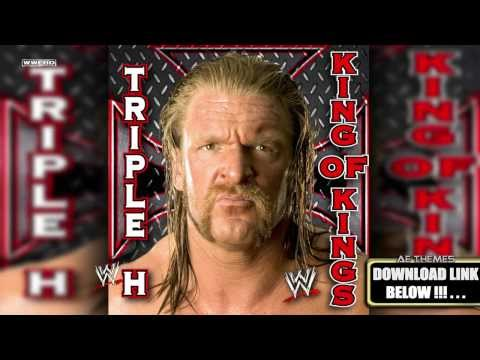WWE: King Of Kings (Triple H) Theme Song + AE (Arena Effect)