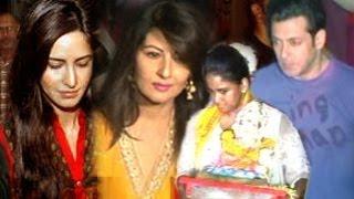 Salman Khans Ganpati Visarjan Katrina Kaif Sangeeta Bijlani SPOTTED