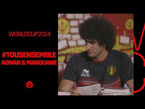 #tousensemble #iedereenmee: Adnan & Marouane