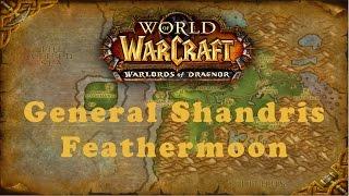 World of Warcraft Quest: General Shandris Feathermoon (Alliance)