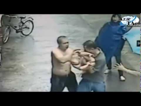 Мужчина спас ребенка