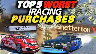 Why did i buy this?? Top 5 Worst iRacing Purchases