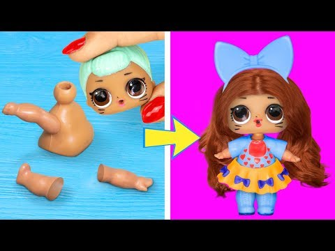 15 Clever LOL Surprise Dolls Hacks And Crafts