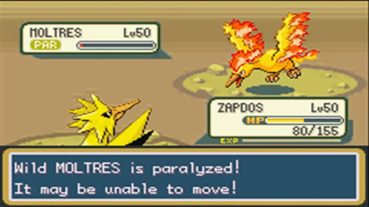 Pokemon Firered Adventures Part 56 Moltres The Legendary Fire Bird Youtube
