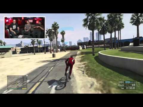 GTA 5: Running a Triathlon – IGN Live