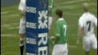 Ireland  Vs England Mary McAleese Vs Martin Johnson 2003