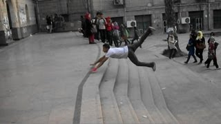 Free Running & Parkour & Freestyle2013ك/جابرنسر