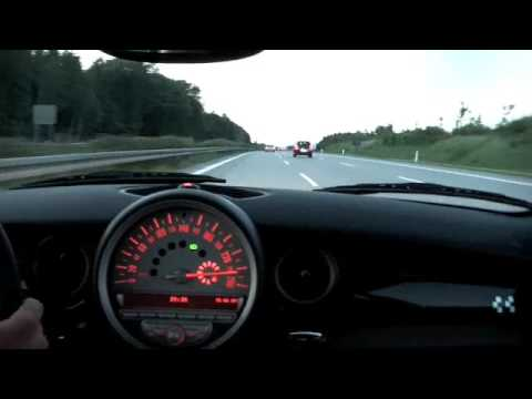 Mini R56 JCW V-Max 164 MPH / 263 km/h Part 1/2