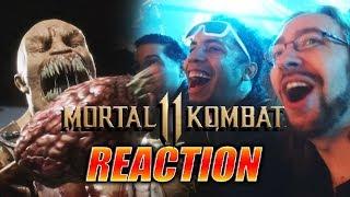 DOODS REACT: Mortal  Kombat XI Gameplay Reveal LIVE!