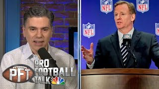 Roger Goodell remains mum on CBA negotiations | Pro Football Talk | NBC Sports