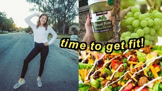 try to get fit with me! | Marla Catherine
