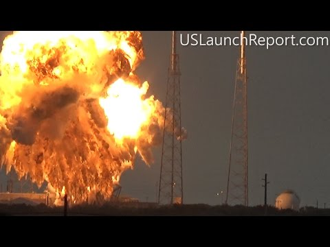 SpaceX - Static Fire Anomaly - AMOS-6 - 09-01-2016
