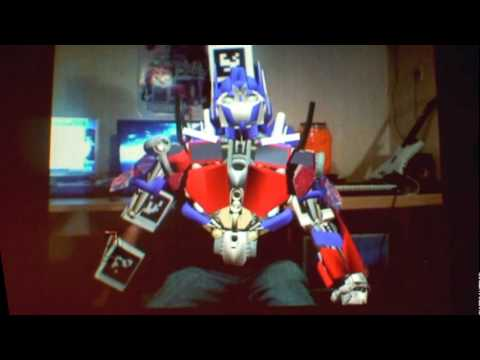 TransFormers Augmented Reality(AR)