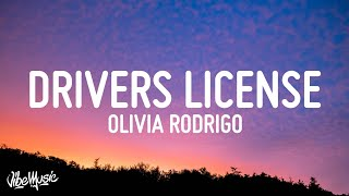 Olivia Rodrigo – drivers license Lyrics