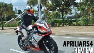 Aprilia RS4 Review