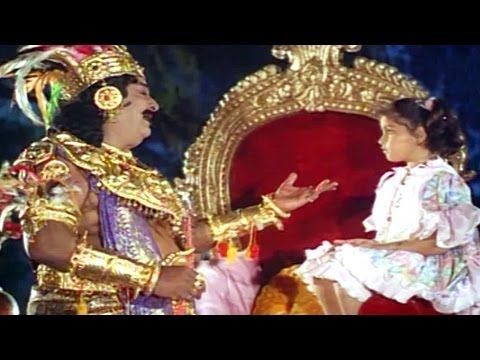 Ghatothkachudu Movie Songs - Andala Aparanji Bomma - Kaikala Satyanarayana video