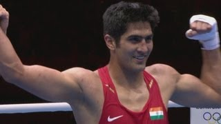 IND v KAZ - Boxing Middle (75kg) Round of 32 | London 2012 Olympics