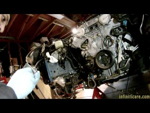 DIY Video: VQ35DE Timing Chain Tensioner and Water Pump Replacement
