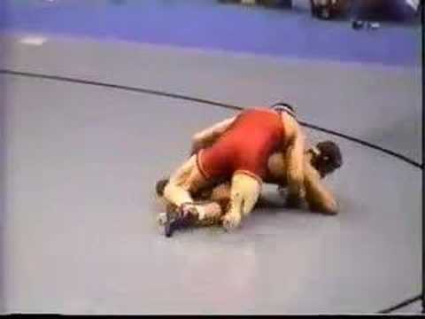 2000 NCAA: Cael Sanderson (IowaSt) vs Vertus Jones (WV)