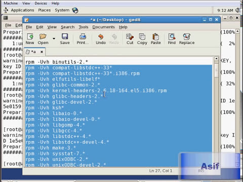 Oracle E-Business Suite Installation on Linux in Virtual Environment Part 01