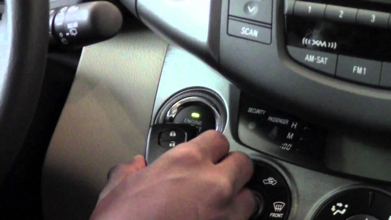 2011 Toyota Rav4 Start With Dead Smart Key Battery