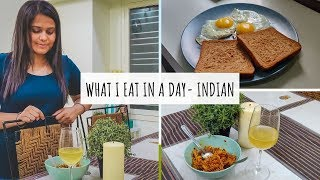 What I Eat In A Day - Indian (Vlog) | Full Day of Eating Vlog | What I Eat in A Day - India