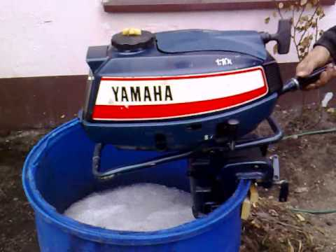 Yamaha 5 Hp Outboard Motor 1980r Air Cooled 2 Stroke