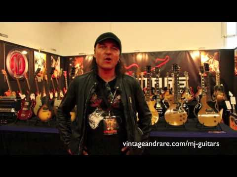 Matthias Jabs / MJ Guitars / Vintage Guitar Show Frankfurt 2011 / Vintage&RareTV
