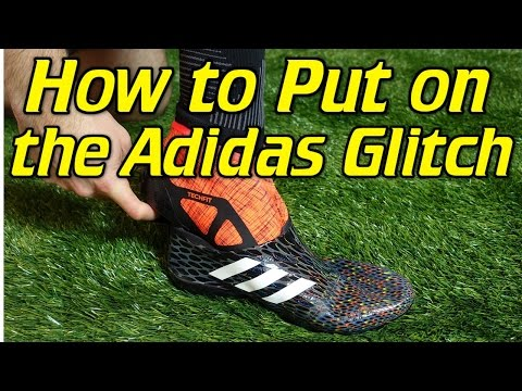 How To Put On the Adidas Glitch - Tutorial
