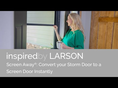 Install A Larson Storm Door How To Make Amp Do Everything