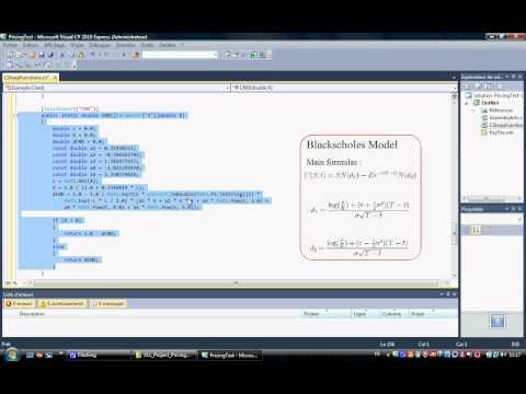 C# - Pricing Binomial Trees (CRR, JRRN, TIAN) - XLW - Excel Debug