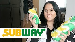 SUBWAY MUKBANG - Vegan