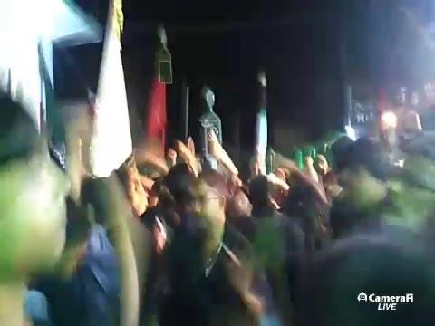 Azadari Channel's broadcast gopalpur majlis gahwara ali asghar a. s.