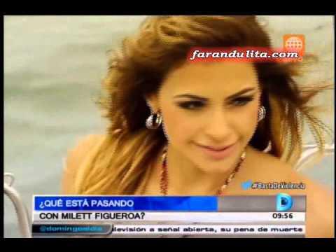 Domingo Al Dia: Milett Figueroa Anuncio Su Retiro Del Miss Peru 2016 [20-03-2016]