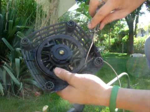 How to fix a lawn mower recoil
