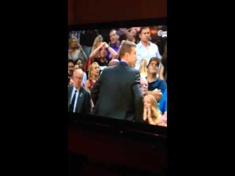 Boston celtics coach brad Stevens reaction to Jeff green buzzerbeater vs the heat