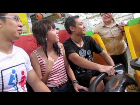 Jurassic Park Rapids Adventure(full ride)™ at Universal Studios at Resorts World Sentosa Singapore