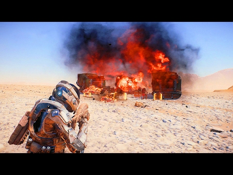 MASS EFFECT Andromeda - Combat Gameplay Trailer